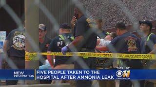 5 Injured In Ammonia Leak At Dallas Bakery Plant