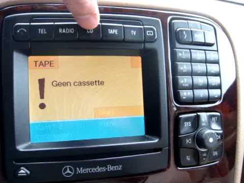 Mercedes W220 COMAND NTG1 Service Menu - смотреть онлайн на