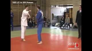 preview picture of video 'Judo Verbandsliga 2013 - 2. Wettkampftag - 73 kg - DSF e.V. vs. PSV Kamenz'