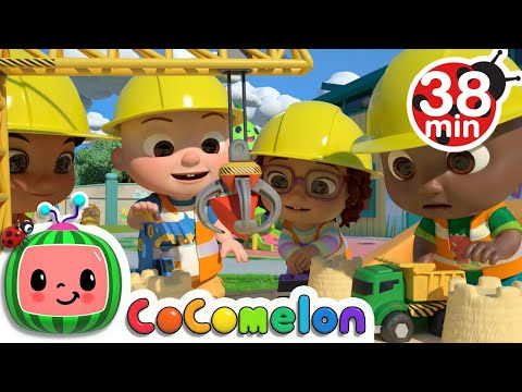 Construction Vehicles Song  + More Nursery Rhymes & Kids Songs - CoComelon