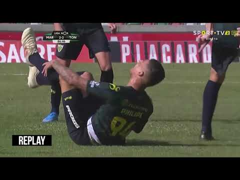 Penalty given after VAR Review | Philipe Sampaio | 25.08.2019 | Marítimo 2 x 3 Tondela | Primeira Liga - Jornada 3
