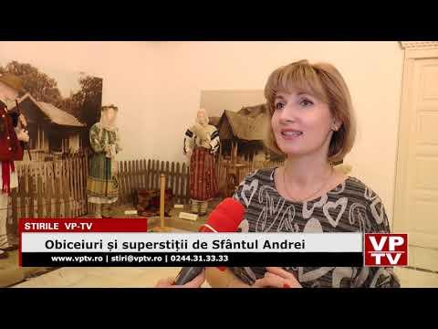 Obiceiuri și superstiții de Sfântul Andrei
