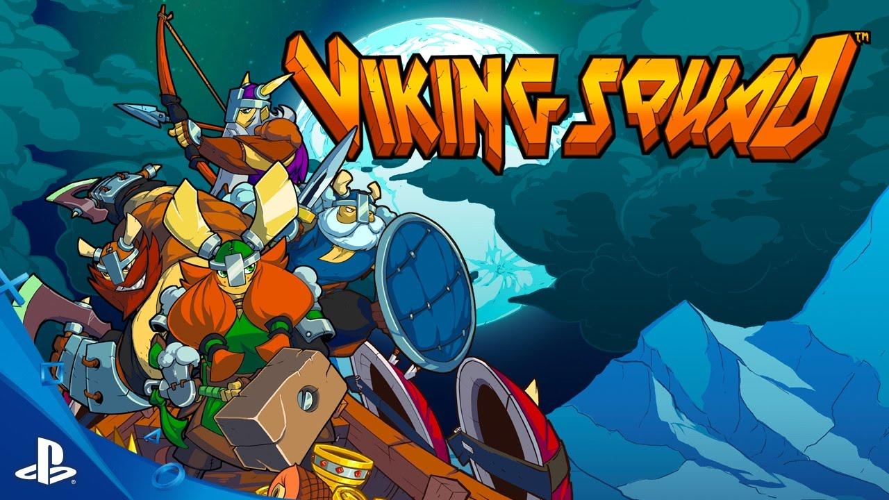 Viking Squad Chega ao PS4 em 4 de Outubro