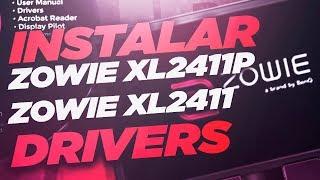 BenQ ZOWIE XL2411P/ XL2411 Instalar Drivers