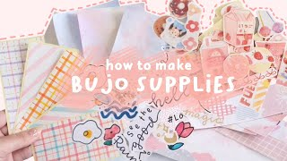 🍒 DIY Bullet Journal Supplies / Decoration / Stationery 🍒