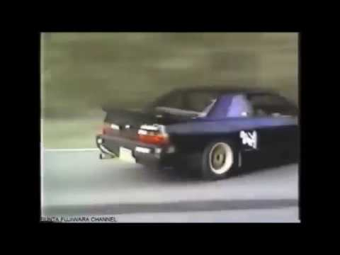 90's Japan Street Drifting w/Eurobeat - игровое видео смотреть