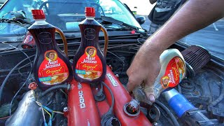 Using MAPLE SYRUP as ENGINE OIL