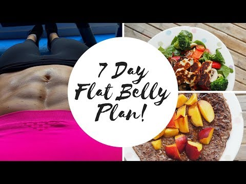 Video 7 DAY FLAT BELLY HEALTHY EATING MEAL PLAN!