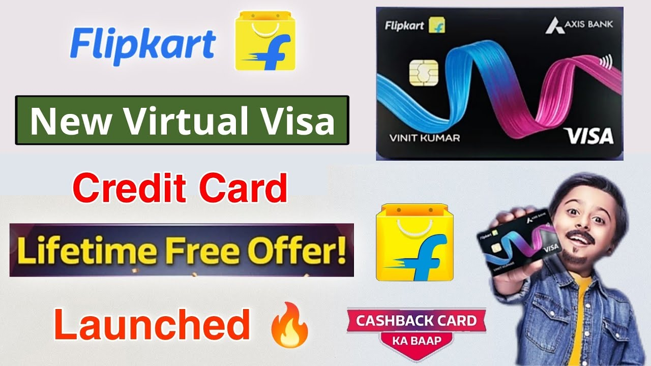 Flipkart Axis Bank Life Time Free Charge Card Released How to Use Flipkart Visa Charge card complimentary thumbnail