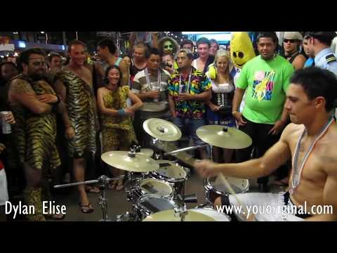 Dylan Elise, World's greatest drummer? 2/4