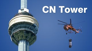 How the CN Tower was Built | Engineering & Construction