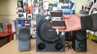 Sony SRS-D8 2.1 |ONLY 3000rs| REVIEW/SOUND TEST (60watts RMS) DEEP BASS BEST HOME THEATER UNDER 3000