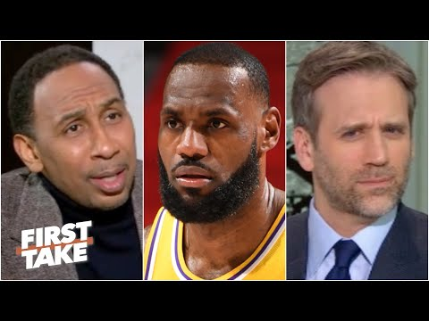 Stephen A. defends LeBron after the Lakers' loss to the Pistons   First Take