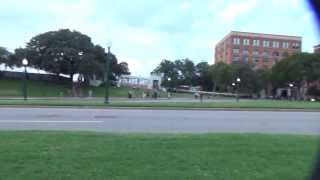 Truman Plays Dead in Dallas, JFK Assasination Reenactment