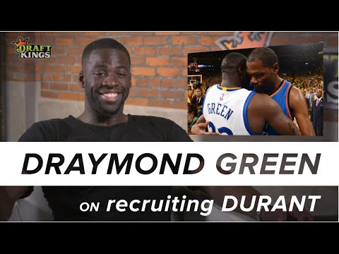 One on One with Draymond Green – Draymond's role in recruiting Kevin Durant