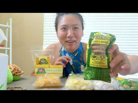 Video Hawaii souvenirs and snacks Haul. 夏威夷伴手禮分享!