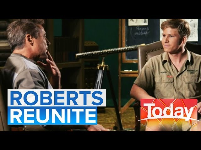 Robert Downey Jr and Bob Irwin reunite after 16 years | Today Show Australia