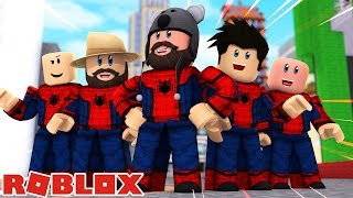 Spider Man Homecoming In Roblox Minecraftvideos Tv