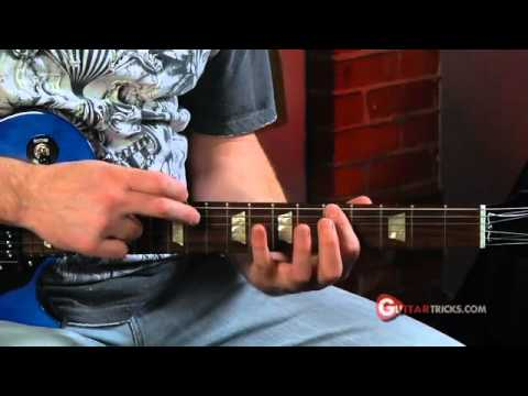Diminished Two-Hand Tapping - Electric Guitar Lesson - Guitar Tricks 75