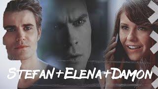 Дневники Вампира, ►Stefan+Elena+Damon | Где ты, где я [AU]
