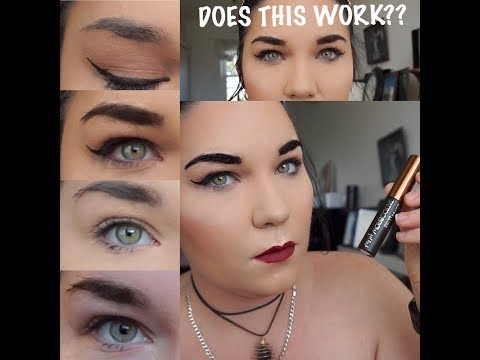 Peel Off Brows - Does this really work? Maybelline Tattoo Brow Tint