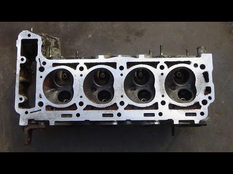 Фото к видео: Обзор и сравнение ГБЦ двигатель Мерседес М 102 2,0 -2,3