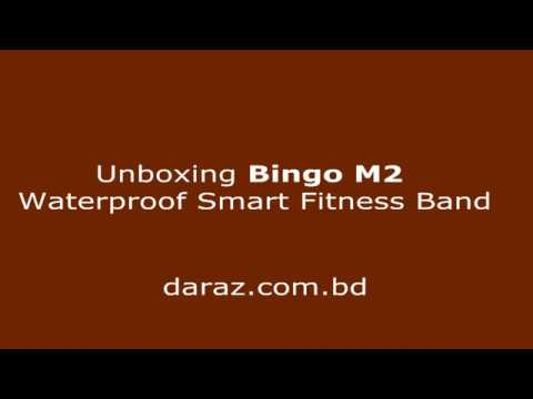 Bingo M2 Waterproof Smart Fitness Band | Unboxing & Review 2018 | Daraz.com.bd | Debashis Roy