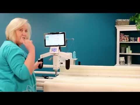 Quilting Edge-to-Edge Using Rows on the HQ Pro-Stitcher