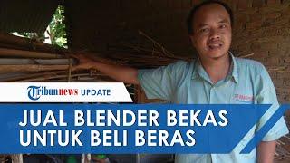 VIRAL Sambil Menangis, Pria Jual Blender di Pinggir Jalan, Akui Tak Punya Uang untuk Makan