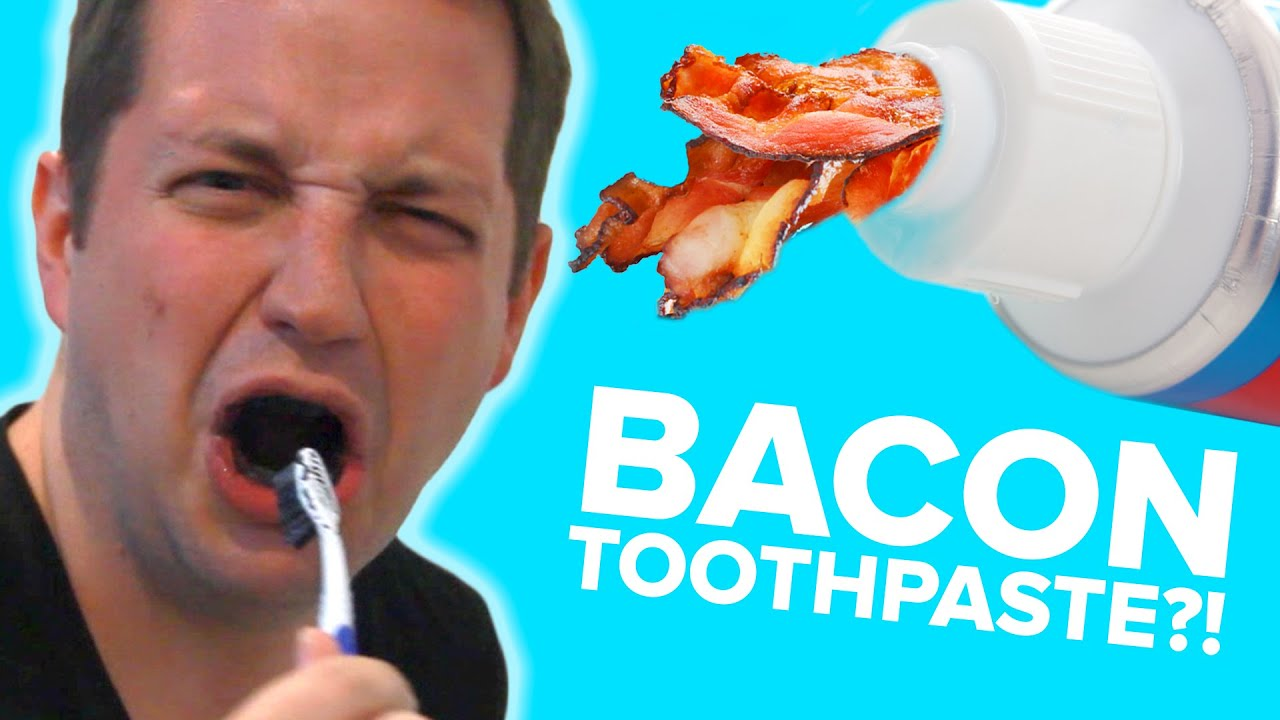 People Try Strange Toothpaste Flavors thumbnail