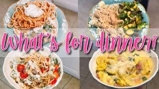 EASY FAMILY DINNER IDEAS MARCH 2019 // WHAT'S FOR DINNER WEDNESDAY