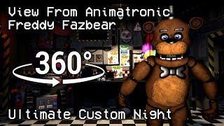 360°| Freddy Fazbear Prospective Death Scene - FNAF Ultimate Custom Night [SFM] (VR Compatible)