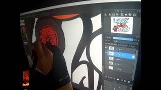 mqdefault - #9 【シュガー・ラッシュ:オンライン×Graffiti】Art Work Timelapse