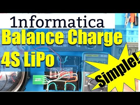 Add Balance Board to LiPo Battery Management - Perfect Charging Solution!  DIY Electronic Project