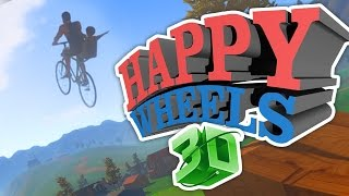 HAPPY WHEELS 3D!!! (Guts and Glory Part 1)