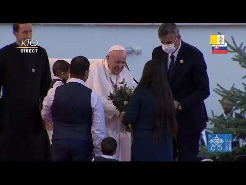 Rencontre du pape François avec la communauté Rom