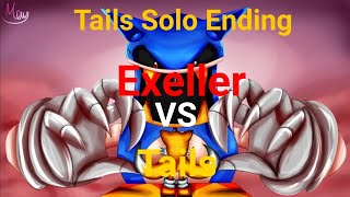 Tails Vs Exeller Sonic.Exe Spirits Of Hell: Tails Solo Ending