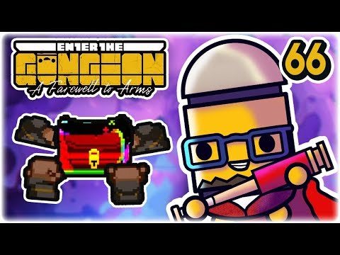 HIGH DRAGUNFIRE GLITCH CHEST | Part 66 | Let's Play: Enter the Gungeon: Farewell to Arms | PC HD