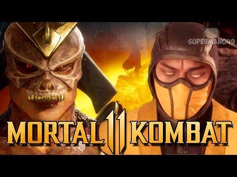 "The BEST Counter To Scorpions Teleport! - Mortal Kombat 11: ""Shao Kahn"" Gameplay"