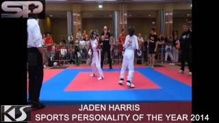 preview picture of video '2014 - Sports Personality Nomination - Jaden Harris'