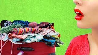 Полезные (Лайфхаки) Как Спрятать деньги в дорогу и упаковать правильно чемодан Подборка 2019