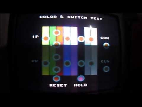 Color & Switch Test (Cartucho de testes para Master System)