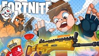 The Invisible Wall Glitch Trap Fail!! - Fortnite Battle Royale