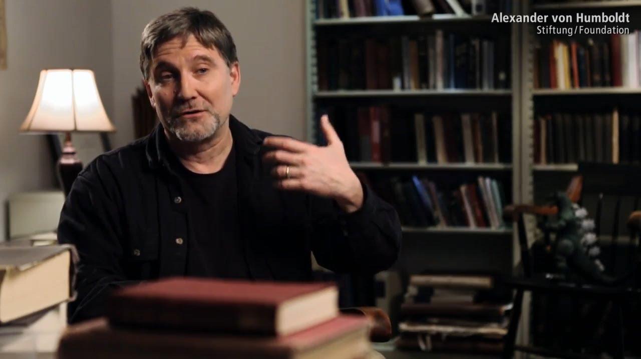 Filmportrait der Alexander von Humboldt-Stiftung über Gregory Cran