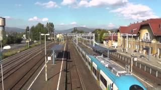preview picture of video 'Żywiec dworzec PKP - 27WE-001 Koleje Śląskie'