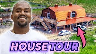 Kanye West | House Tour 2020 | His TWO New 28.5 Million Dollar Ranches