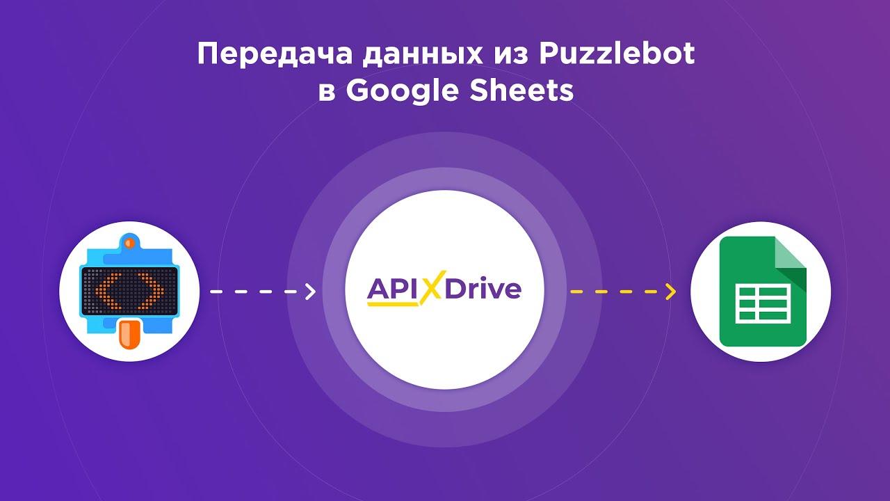 Как настроить выгрузку данных из Puzzlebot в GoogleSheets?