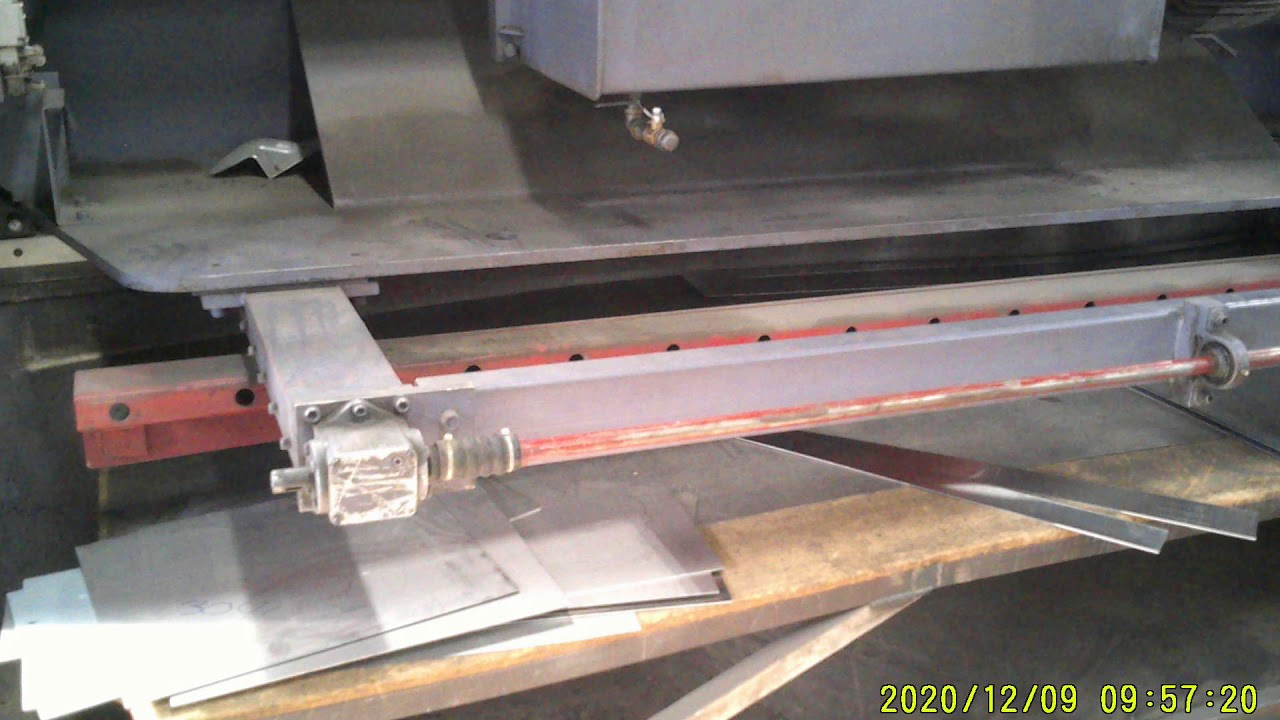 """2005 AFM 10' x 1/4"""" Hydraulic Shear"""