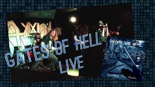 Answer With Metal - Gates of Hell live