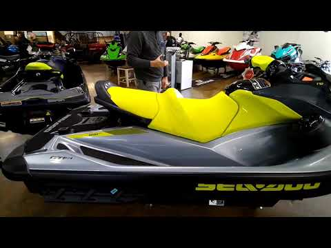 2021 Sea-Doo GTI SE 170 iBR + Sound System in Louisville, Tennessee - Video 1